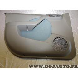 Garniture panneau de porte habillage portiere gauche urban azur 735407735 pour fiat panda 2 II emotion de 2003 à 2009