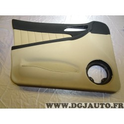 Garniture panneau de porte habillage portiere gauche cuir beige 156049967 pour alfa romeo 156 de 2001 à 2005