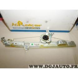 Mecanisme de leve vitre electrique avant droit 01.4592 pour renault scenic 2 II