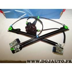Mecanisme de leve vitre electrique avant gauche 107387 pour volkswagen golf 3 III vento