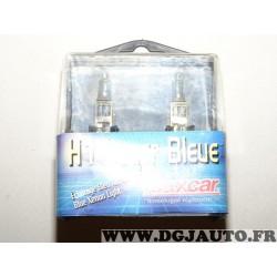 Paire ampoules de phare type H1 12V 55W bleu xenon 86437Z pour renault peugeot citroen volkswagen audi seat skoda hyundai kia op