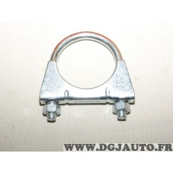 Collier serrage tuyau silencieux echappement 48mm diametre 300003 pour fiat lancia alfa romeo renault peugeot citroen opel chevr