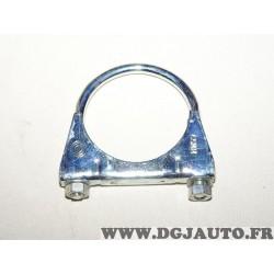 Collier serrage tuyau silencieux echappement 65mm diametre 300007 pour fiat lancia alfa romeo renault peugeot citroen opel chevr