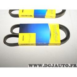 1 Courroie accesoire 5PK1025 pour citroen AX BMW X5 E53 mazda 626 MX5 opel astra G GT peugeot 106 toyota celica T200