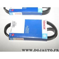 1 Courroie accessoire 5PK700 pour citroen BX peugeot 405 rover 218 D 418 D 1.7TD 1.7 TD diesel