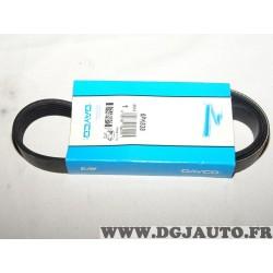 Courroie accessoire 6PK838 pour renault master 2 II volvo 440 460