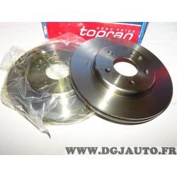 Paire de disques de frein avant ventilé 284mm diametre 400853 pour mercedes classe C W202
