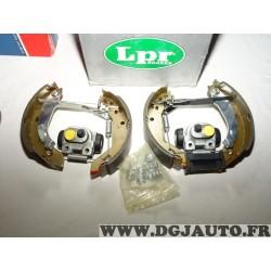 Kit frein arriere prémonté 180x42mm montage lucas OEK180 pour renault clio 1 super 5