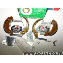 Kit frein arriere prémonté 180x32mm montage girling 6059 pour peugeot 306 citroen ZX xsara
