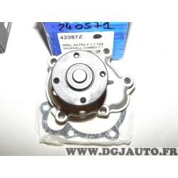 Pompe à eau 42087Z pour opel astra F corsa A B vectra A 1.5D 1.5TD 1.7D 1.7TD 1.5 1.7 D TD TDS