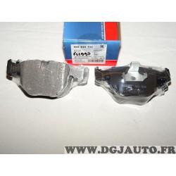 Jeux 4 plaquettes de frein avant montage teves 500834 pour BMW E38 E39 E53 serie 5 7 X5 alpina B10