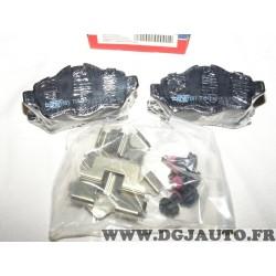 Jeux 4 plaquettes de frein arriere montage lucas 501718 pour mini cooper one clubman clubvan roadster