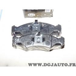 Jeux 4 plaquettes de frein avant montage teves 05P232 pour ford fiesta 1 2 I II