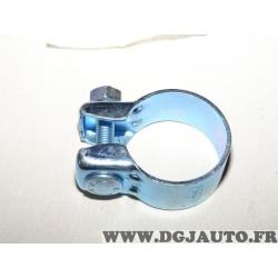 Collier serrage tuyau silencieux echappement 49.5mm diametre 12.339.911 pour fiat lancia alfa romeo renault peugeot citroen opel