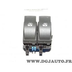 Paire boutons interrupteur commande leve vitre electrique 81063 pour renault megane 2 II scenic 2 II