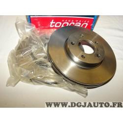 Paire disques de frein avant ventilé 278mm diametre 302335 pour ford C-max cmax focus 2 II volvo C30 C70 S40 V50