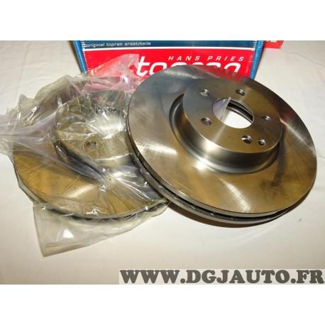 Paire disques de frein avant ventilé 322mm diametre 401898 pour mercedes classe C E SLC SLK W204 W212 R172