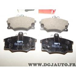 Jeux 4 plaquettes de frein avant montage lucas FSL370 pour alfa romeo 145 146 155 GTV spider fiat argenta barchetta punto regata