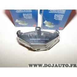 Jeux 4 plaquettes de frein arriere montage brembo 24808Z pour renault laguna 1 safrane espace 3 III