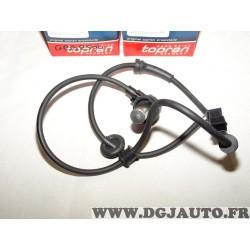 Capteur ABS vitesse de roue arriere 109757 pour audi A4 B5 de 1994 à 2000