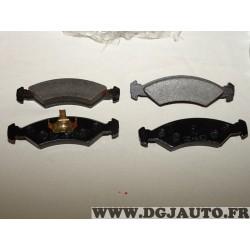 Jeux 4 plaquettes de frein avant montage teves GDB311 pour ford fiesta 1 2 I II