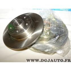Paire disques de frein arriere plein 274mm diametre sans roulement BS6280 pour renault laguna 2 II