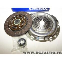 Kit embrayage disque + mecanisme + butée 641745341 pour renault clio 2 II kangoo megane 1 dont scenic dacia lodgy logan sandero