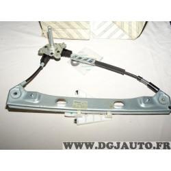 Mecanisme de leve vitre manuel porte portiere arriere gauche 71740180 pour alfa romeo 159