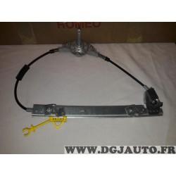 Mecanisme de leve vitre manuel porte portiere arriere droite 60672281 pour alfa romeo 156 SW