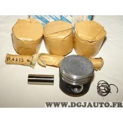 Kit 4 pistons moteur +0.4 avec axe et segmentation 5895631 pour fiat punto 1 tempra tipo ducato lancia dedra delta diesel