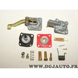 Kit reparation membrane carburateur solex (contenu de la photo sans réclamation) 9937897 pour fiat lancia alfa romeo à identifie
