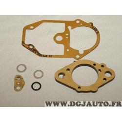 Pochette de joints carburateur incomplete (contenu de la photo manque 2 petits joints noir) 9938666* pour fiat uno