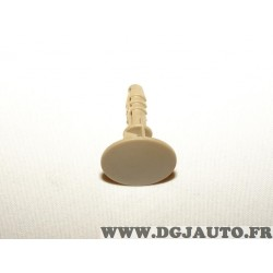Bouton agrafe fixation moquette revetement sol beige 156033886 pour alfa romeo 156 SW de 2001 à 2005