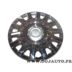 Enjoliveur de roue cache jante noir brillant modele expo (petits defauts visuel suite stockage) 735564149 pour fiat 500L partir