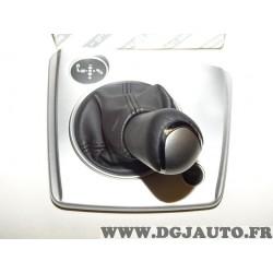 Soufflet noir avec pommeau levier de vitesse sur socle boite de vitesses selespeed 156074590 pour alfa romeo 159 de 2005 à 2010