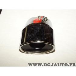Sortie echappement ovale diametre raccord interieur 54mm 7-95 pour fiat 500