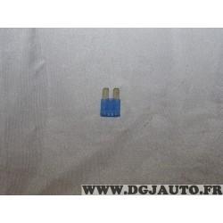 Micro fusible bleu 15A 68100745AA pour chrysler 200 pacifica dodge durango journey jeep gladiator wrangler cherokee grand cherok