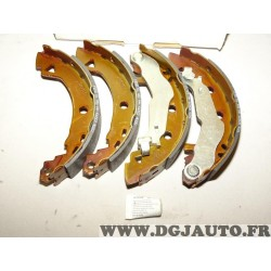 Jeux 4 machoires de frein arriere 203x38mm montage bendix 9947106 pour alfa romeo 145 146 lancia delta fiat brava bravo marea
