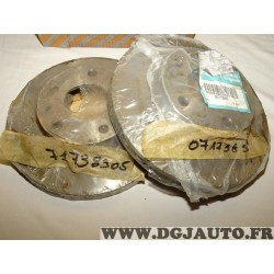 Paire disques de frein avant 280mm diametre ventilé 71738905 pour fiat ducato peugeot boxer citroen jumper de 1994 à 2006