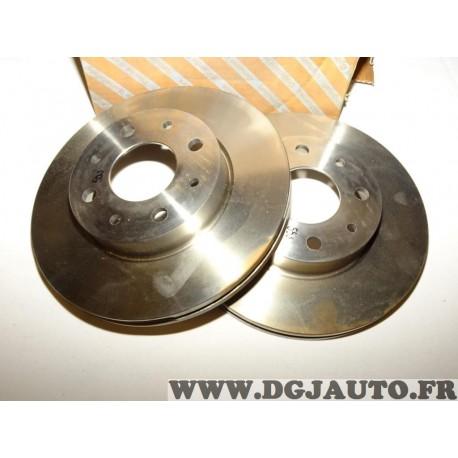 Paire disques de frein avant ventilé 240mm diametre 46419204 pour fiat palio siena