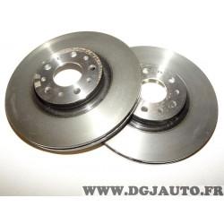 Paire disques de frein avant ventilé 284mm diametre 51996238 pour fiat tipo 2 II partir de 2015