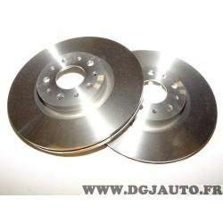 Paire disques de frein avant ventilé 284mm diametre 51990127 pour fiat tipo 2 II partir de 2015