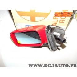 Retroviseur avant gauche coque peinte rouge 152144099 pour alfa romeo 146 de 1997 à 2000