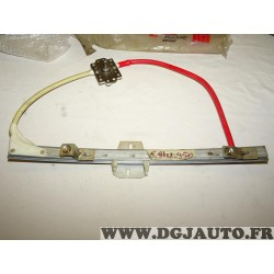 Mecanisme leve vitre manuel porte avant gauche 5942950 pour fiat uno duna elba mille