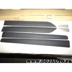 Ensemble 6 baguettes moulure protection de porte portiere 990E051K09 pour suzuki splash partir de 2012