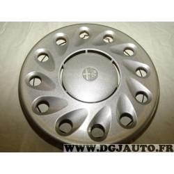 """Enjoliveur cache roue jante 14"""" 14 pouces (plusieurs rayures) 60625766 pour alfa romeo 155 de 1996 à 1997"""