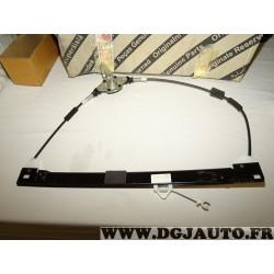 Mecanisme leve vitre manuel avant gauche 51793187 pour fiat doblo 2 II partir de 2005