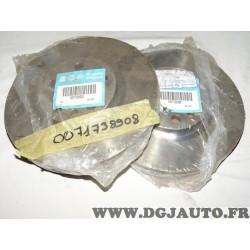 Paire disques de frein avant 281mm diametre ventilé 71738908 pour fiat ulysse scudo lancia zeta peugeot 806 expert citroen evasi