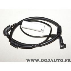 Contacteur temoin usure plaquettes de frein TU147 pour BMW E60 E63 E64 serie 5 6