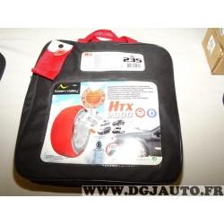 Paire chaussettes neige HTX 2000 N°235 979235 pour pneu roue jante 235/85/16 265/75/16 275/70/16 265/70/17 275/65/17 285/60/18